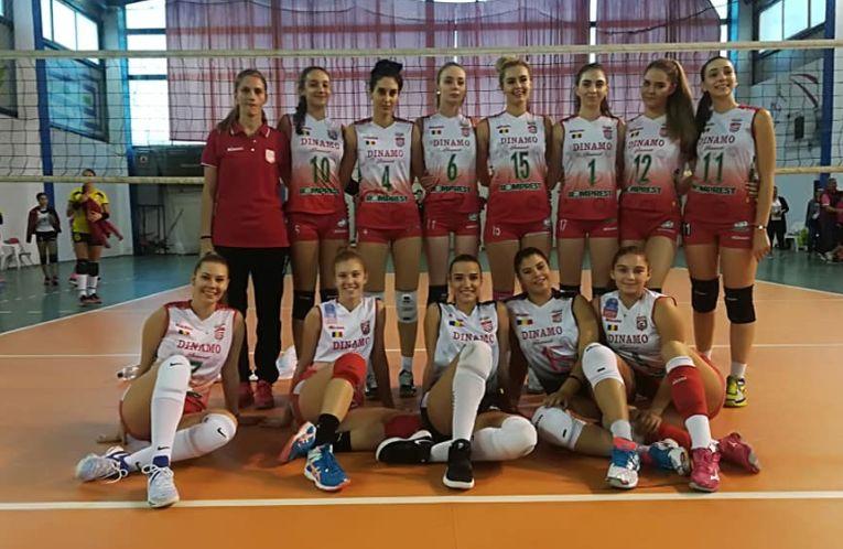 Echipa de volei cadete Dinamo