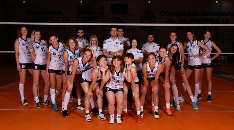 csm bucuresti echipa de volei pentru sezonul 2018 2019