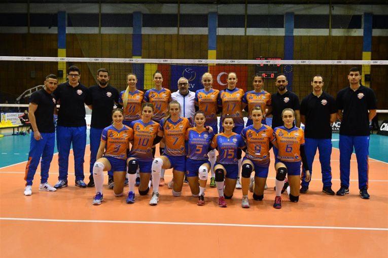 CSM Targoviste inaintea debutului in Cupa CEV la volei feminin