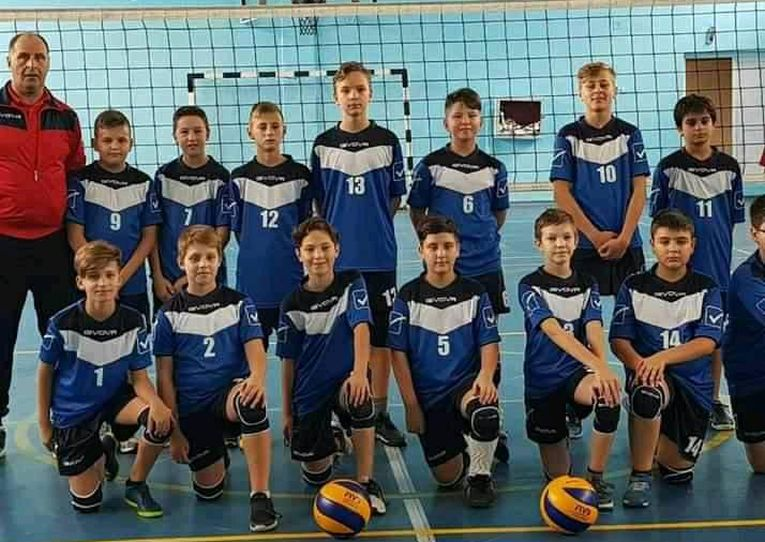 Echipa masculina de minivolei a CSS Botosani
