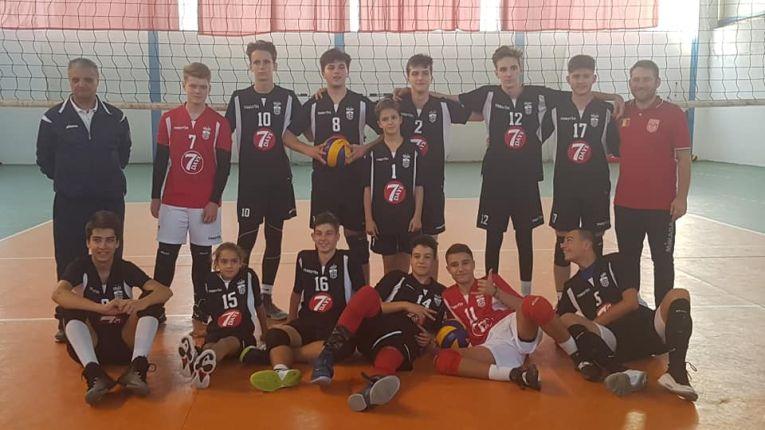 Echipa de cadeti a clubului Dinamo
