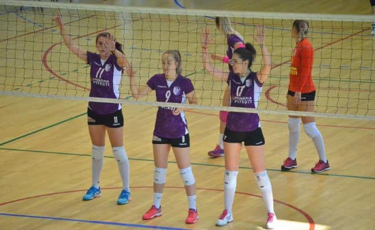 FC Arges e printre fruntasele Seriei Est in Divizia A2 la volei feminin