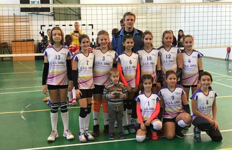 Echipa de minivolei feminin a CSS Sibiu