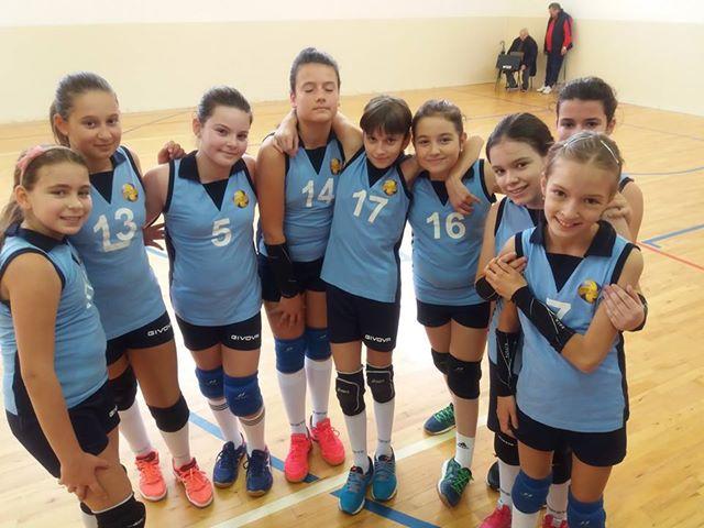 Echipa de minivolei CSM Power Volleyball Baia Mare