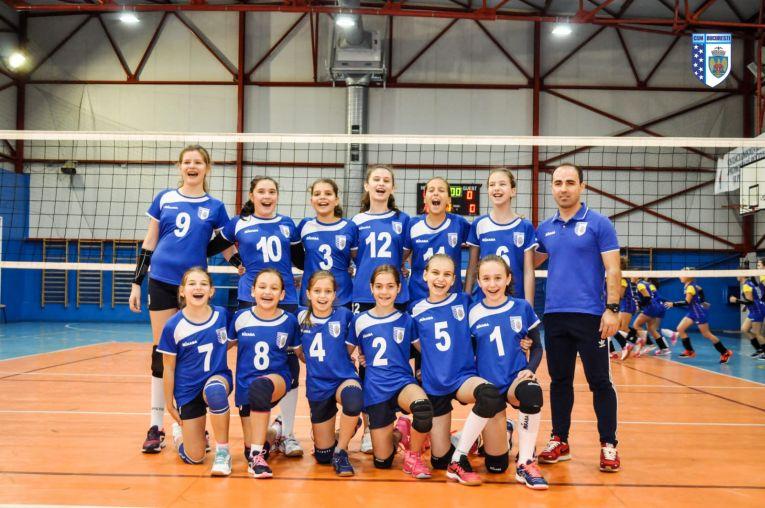 Echipa feminina de minivolei CSM București A