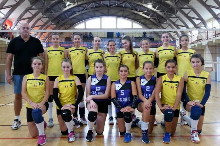 Echipa feminina de sperante a CSS Sibiu volei