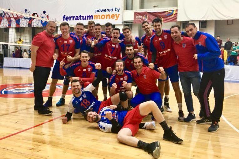 Bucuria victoriei steliștilor dupa succesul cu Dinamo
