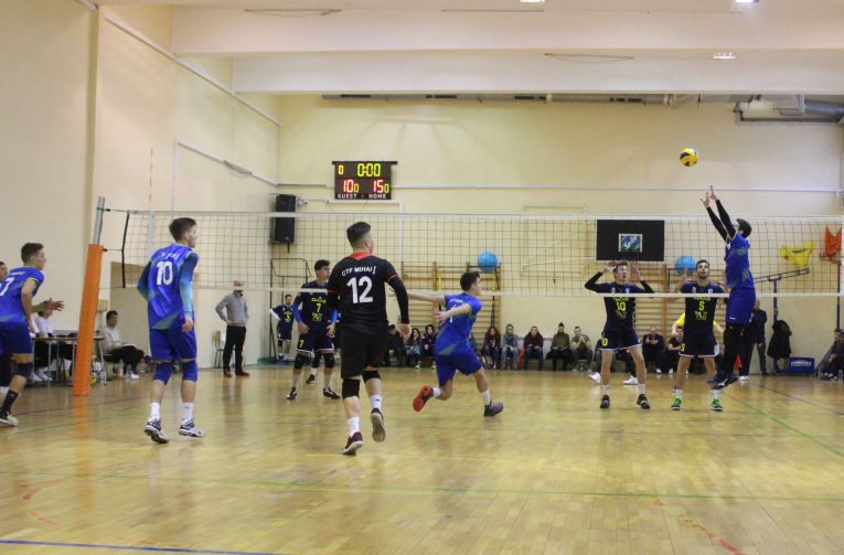 tudor constantinescu ridicator setter volleyball ctf mihai I