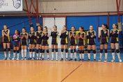 Echipa de speranțe a CSS Sibiu volei
