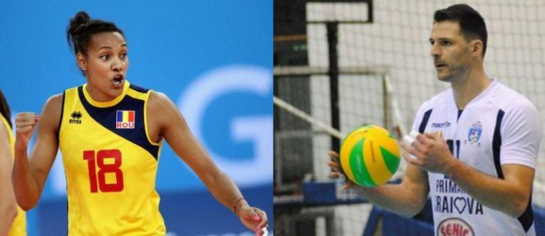 NNeka Onyejekwe si Laurentiu Lica, cei mai buni voleibalisti ai anului 2018