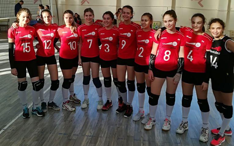Echipa de cadete Penicilina Iași volei