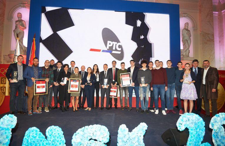Comitetul Olimpic din Serbia premeirea sportivilor anului 2018