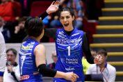 Alexandra Sobo se bucura dupa un punct pentru CSM Bucuresti