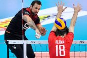Gyorgy Grozer in actiune la nationala de volei a Germaniei