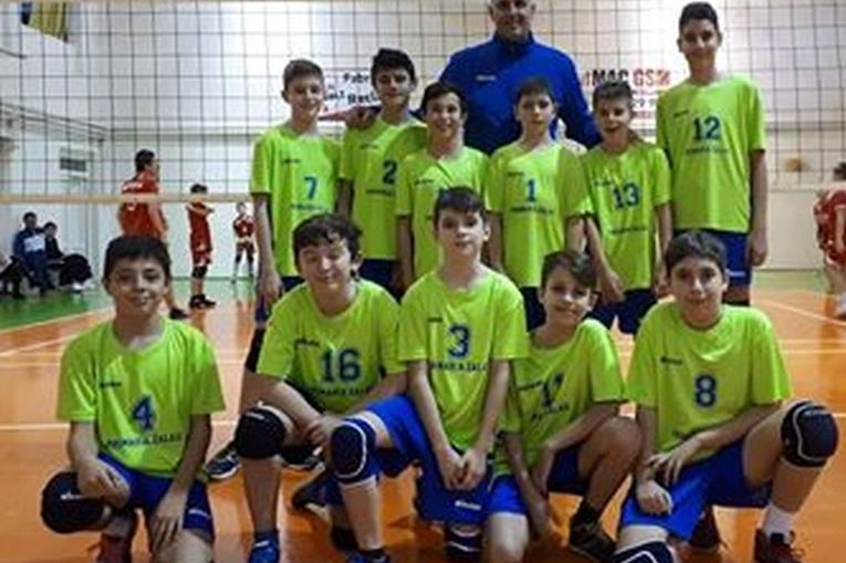 Echipa de minivolei AV Lazăr Marius