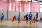 Tudor Constantinescu, setter of junior volleyball team CTF Mihai I Bucharest