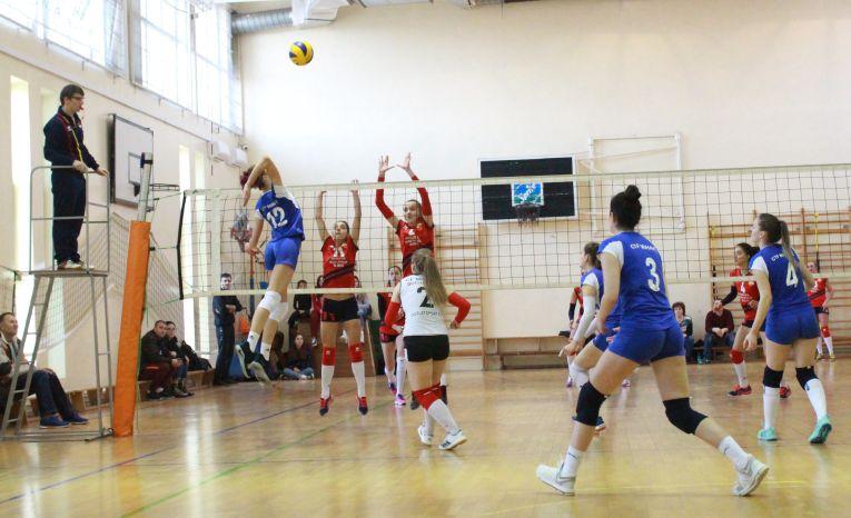 CTF Mihai I a fost invinsa de Gloria Buzau in Seria Est a Diviziei A2 la volei feminin