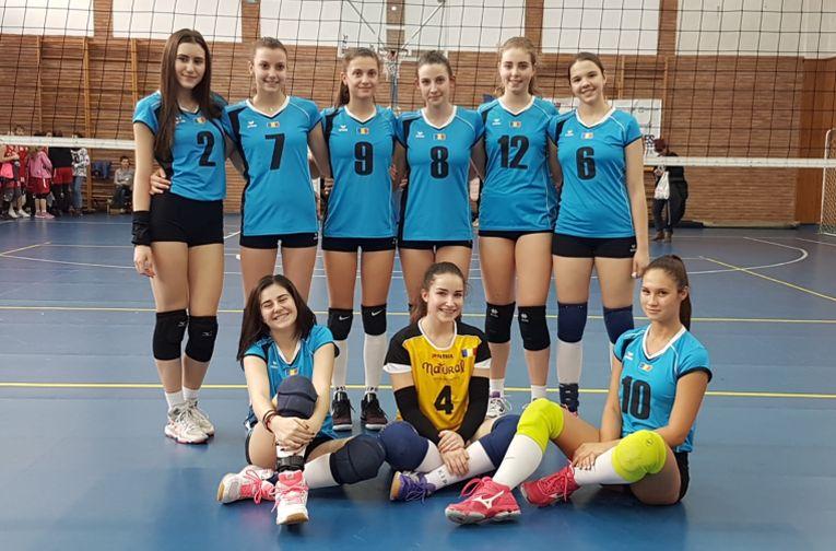 Echipa de junioare a CSS Sibiu volei