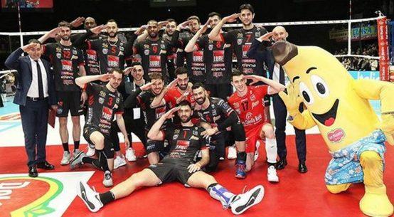 Lube Civitanova s-a calificat in finala Cupei Italiei la volei masculin