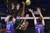 Melissa Vargas de la Fenerbahce, in atac in meciul cu CSM Bucuresti din Liga Campionilor