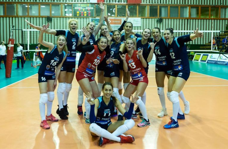 Stiinta Bacău este în semifinalele Cupei CEV la volei feminin