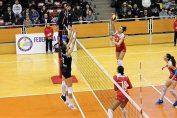 Stiinta Bacau si Volei Alba Blaj vor fi adversare in semifinalele Cupei CEV