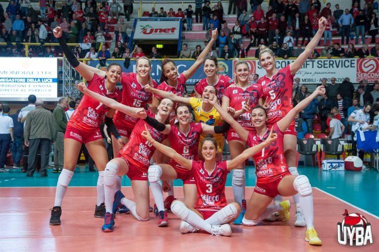 Busto Arsizio s-a calificat in finala Cupei CEV la volei feminin, editia 2018/ 2019