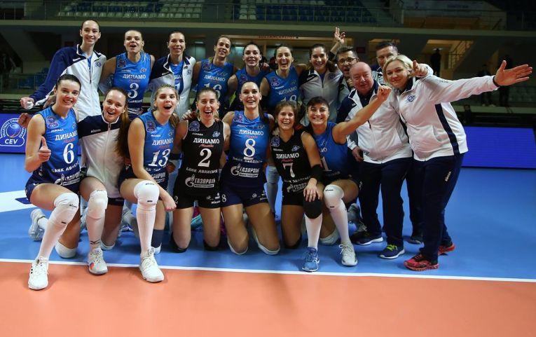 Dinamo Moscova a fost colegă de grupă cu CSM București in Liga Campionilor la volei feminin