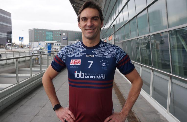 Giba, în tricoul viitoarei sale echipe, IBB Polonia Londra