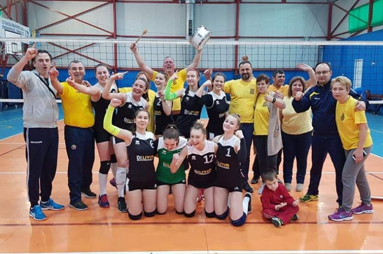 Echipa de junioare CSS Bacău, calificată la turneul final al campionatului 2018/ 2019