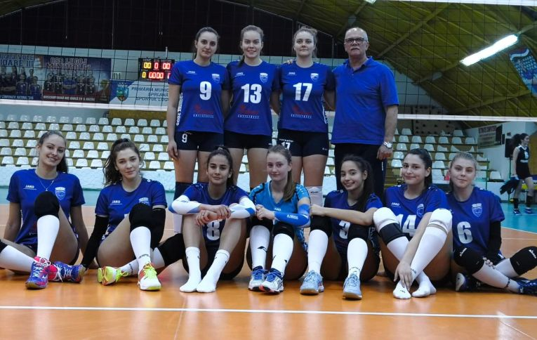 Echipa de junioare CSS Lugoj