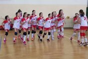 Echipa feminina de minivolei Dinamo in 2018/ 2019