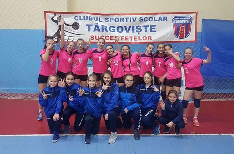 Echipa de speranțe CSS Târgoviște, calificată la turneul final