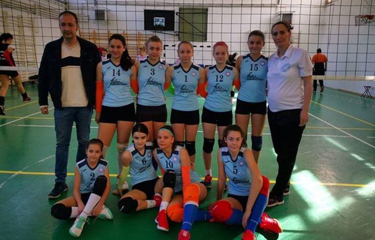 Echipa de sperante a CSV Craiova, calificată la turneul final