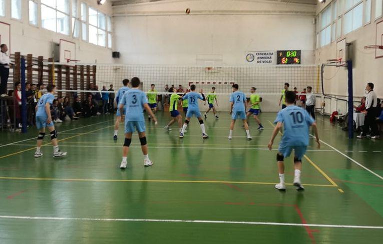 Imagine din meciul de sperante dintre CTF Mihai I și CSS Tulcea