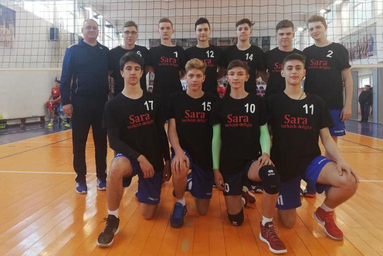Echipa de cadeti CSS Botosani, calificata la turneul final