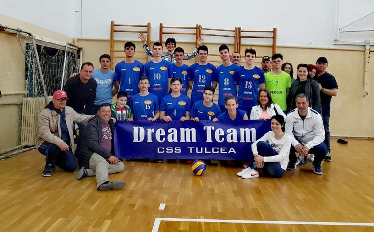 Echipa de cadeti CSS Tulcea, calificata la turneul final al campionatului de cadeti