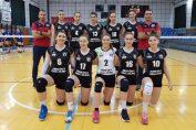 Echipa de junioare Medicina Targu Mures, la turneul final de la Targu Mures