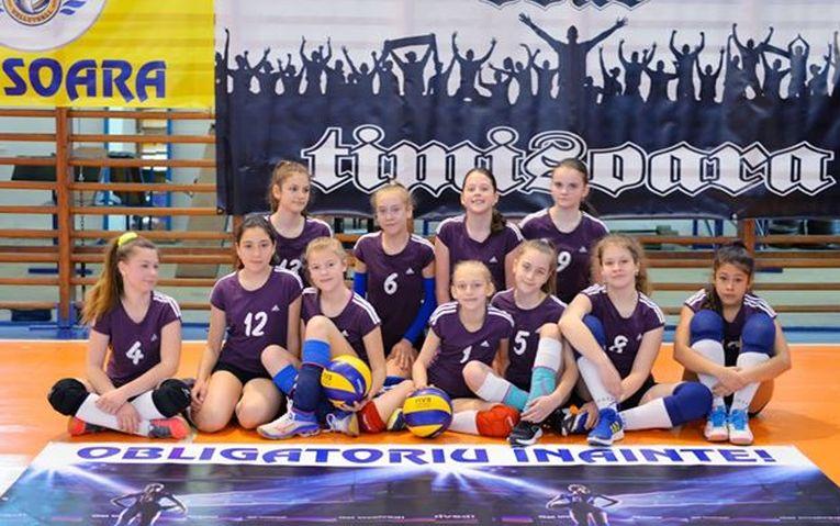 Echipa de minivolei Bega Timisoara, calificată la turneul final