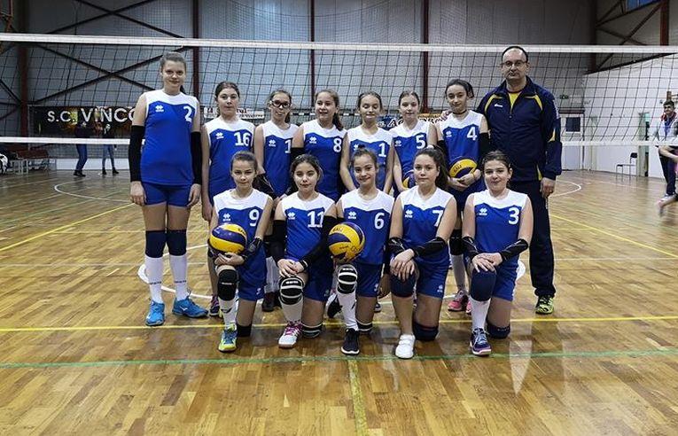 Echipa de minivolei a CSS Bacău