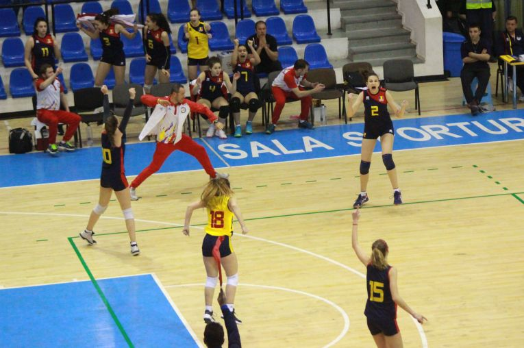 Bucuria nationalei Under 16 după calificarea la turneul final al Campionatului European