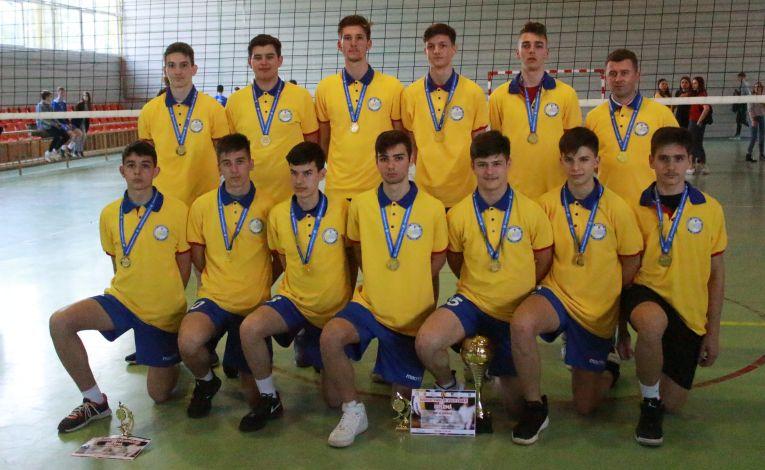 CTF Mihai I e campioana editiei 2018/ 2019 a campionatului de volei pentru cadeti
