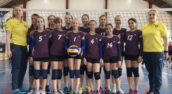 Echipa de minivolei Bega Timisoara