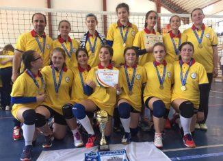 CSM București este noua campioana la minivolei feminin