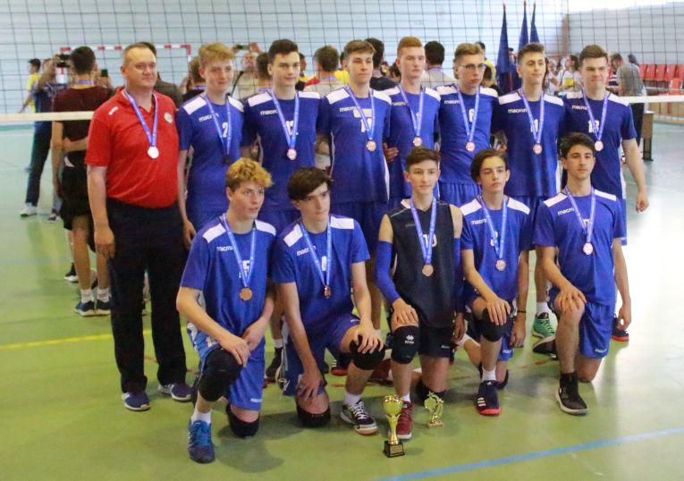 CSS Botosani a castigat medaliile de bronz ale campionatului de cadeti 2018/ 2019
