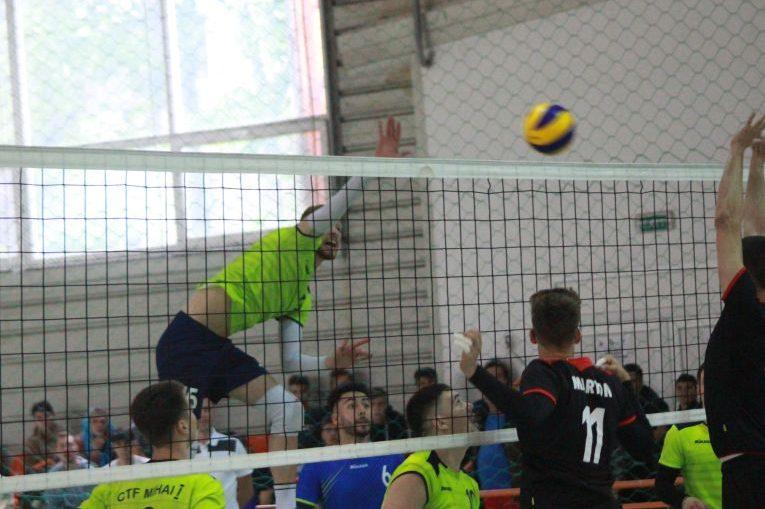 Imagine din meciul CTF Mihai I - LAPI Dej