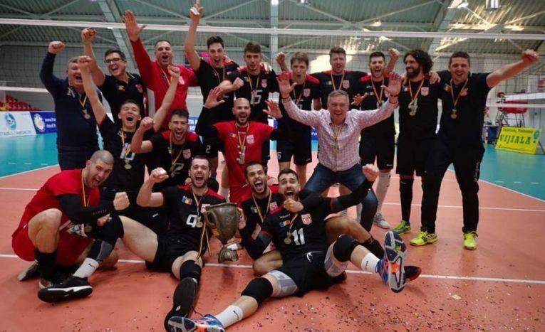 Dinamo a câștigat Cupa Romaniei la volei masculin, editia 2019