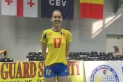 Francesca Alupei a debutat in nationala de volei senioare la doar 16 ani