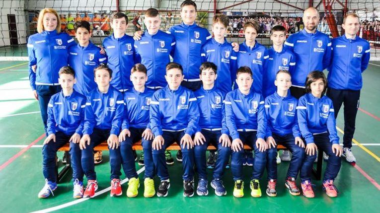 Echipa masculina de minivolei a CSM Bucuresti s-a calificat in semifinale