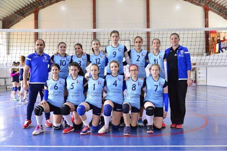 Echipa de minivolei CSM Bucuresti